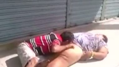 Homeless Sex Affair In Street Captured