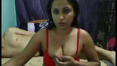 Indian home made porn clip of young sexy bhabhi with devar