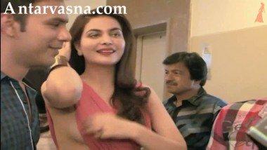 Miss India Ankita Shorey Wardrobe Malfunction