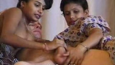 Hot Mumbai girls engaged with foreigner 16