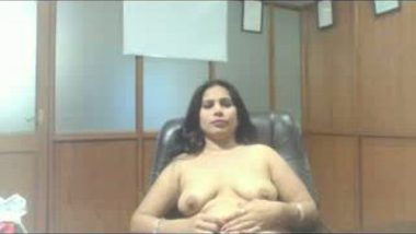 Indian aunty in Interview get fucked by boss