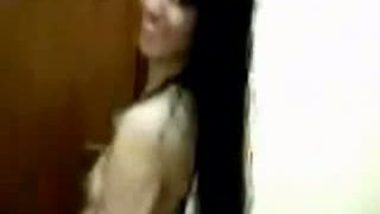 Desi babe recorded by lover after Shower
