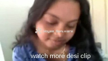 Desi Indian Student Girl With Boyfriend