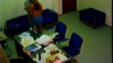 Indian mms scandals of Firm director caught by hidden cam during office sex