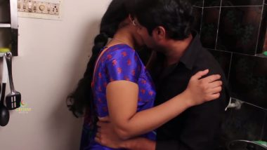 Indian bhabhi foreplay with lover in bollywood movie