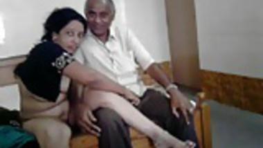 Hot desi milf with oldman