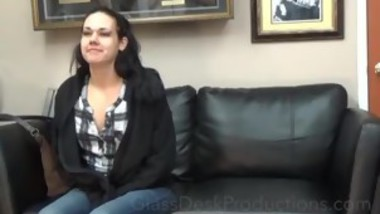 RAVEN-GREY , ASS AND THEN PUSSY , CASTING COUCH BACKSTAGE