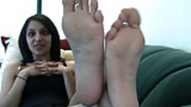 Nia's Sweet Indian Feet