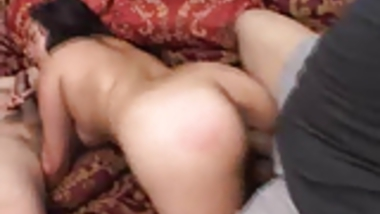 Threesome Action With This Indian Babe