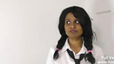 Naughty School Girl Bribing Horny Teacher