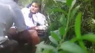 Desi outdoor sex video nepali school girl with lover