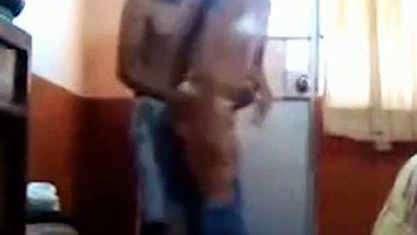 Indian college girl having a hostel sex