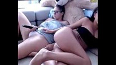 Indian hot sisters touching each other