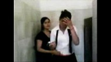 Indian lesbian girls making out during the training