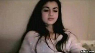 Punjabi babe stripping and finger fucking