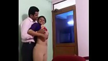 Manager enjoying his sexy secretary inside his office
