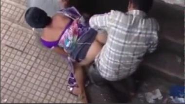 Village couple caught having anal sex in open