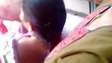 Tamil young girl hot boobs in bus