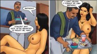 Cartoon Sex Video Showing Savita Bhabhi Getting Birthday Gift