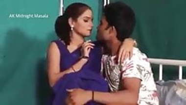 Indian doctor and petient hot romance in hospital